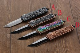 Free Edc Tools Canada - high quality Troodon KG baal Action Knife,blade:440C handle:Zinc alloy(CNC) Outdoor camping survival EDC tools,Free shipping
