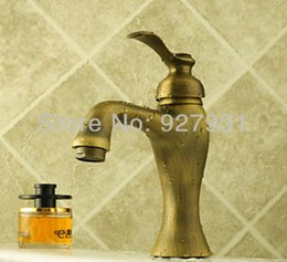 Luxury Brand New High Quality Bathroom Basin Faucet Single Handle Antique  Bronze Sink Mixer Tap Free Shipping! 1001#01