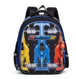 $enCountryForm.capitalKeyWord Canada - 2017 New Waterproof Nylon Orthopedic Children School Bags Boys Cartoon Car Pattern Prints Kids School Backpacks Mochila Infantil