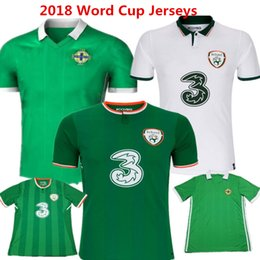 56e55e5da 2018 Ireland Soccer Jersey Northern Ireland Football Shirts 2017 Word Cup  Robbie Keane Walcers Lafferty Davis camisas Green Jerseys Kids