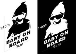 $enCountryForm.capitalKeyWord Canada - Special MaiChao child on board sticker Baby reflective warning post convenient Paste Baby car reflective white Real figure