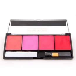 Wholesale-MISS ROSE Brand Value 4 Bright Colors Natural Ruddy Easy To Ware Lighter Close to Skin Longlasting Blush 7004-009Y from rose value manufacturers