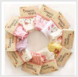 Großhandel Korean Organic Cotton Kinder Unterwäsche Höschen Kurze Hosen 100% Baumwolle Baby Jungen Mädchen Briefs Unterhose für Party Kleid Kinder Kleidung