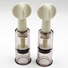 Barato Clitoris, Vácuo, Bombeamento-2pcs Clitoris Vacuum Sucker Female Breast Clitoris Stimulador Massagem Vacuum Sucker pump Twisters Sex Product