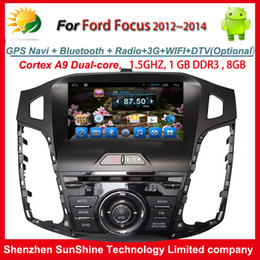 $enCountryForm.capitalKeyWord Canada - Pure Android 4.4.2 2012 2013 2014 1 din 8 inch car stereo dvd radio for Ford Focus car dvd player with GPS Navigation BT TV 3G WIFI AUX OBD2