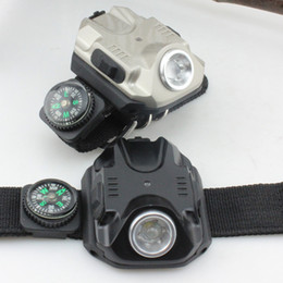Wholesale Rechargeable Outdoor Tactical LED Wristlight Flashlight Waterproof Wrist Lighting Lamp LED Strobe Light SOS Function