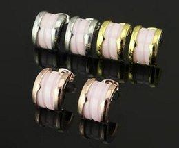 $enCountryForm.capitalKeyWord NZ - Factory direct high quality pink ceramic nail powder ceramic earrings