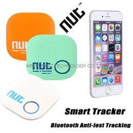 Discount nuts for gifts - 2016 New Nut 2 Smart Tag Bluetooth Activity Tracker Key Wallet Finder Alarm GPS Locator Tracker For Kids Pet Anti-lost P