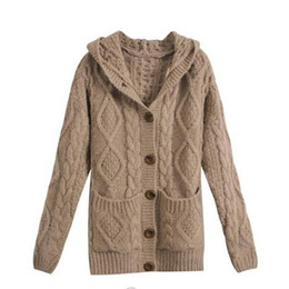 Ladies Knitted Hooded Cardigan Suppliers | Best Ladies Knitted ...