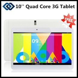 android tablet gps sim Canada - 10 inch 3G Tablet PC with dual sim card slot Phone Call GPS Android 4.2 Dual Core 1GB RAM 8GB 16GB ROM Bluetooth Dual Camera