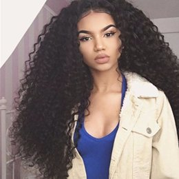 $enCountryForm.capitalKeyWord NZ - Kinky Curly 360 lace frontal Wig 250% Density Lace Front Human Hair Wigs For Black Women Brazilian Virgin Hair Wig Natural Style