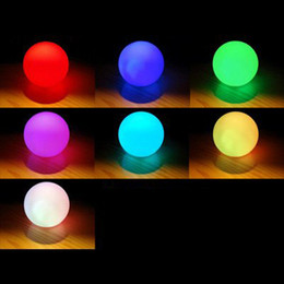 colored light bulbs mood color changing led ball baby kid mood lamp night light children - Colored Light Bulbs