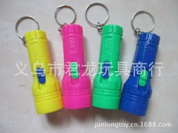Wholesale 2015 Key Chain Led Keychains Key Chain Hot Sale Rubber Led Keychains Men Women Letters Special Mini Plastic Ring Flashlight A Little Light