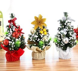 Discount Office Gifts For Desk Merry Christmas Tree Bedroom Desk Decoration  Toy Doll Gift Office Home