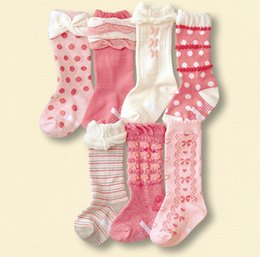 Stock Clothes Winter Canada - 2016 0-10T Baby Infants Boys Girls Lace Stocking Boys Girls Children Socks Outwear Sock Kids Clothes K6330