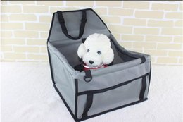 $enCountryForm.capitalKeyWord Canada - Pet Dog Carrier Car Seat Pad Safe Carry House Cat Puppy Bag Car Travel Accessories Waterproof Dog Bag Basket Pet Products