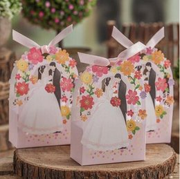 $enCountryForm.capitalKeyWord NZ - Romantic Hollow out flower Wedding Gift Box Elegant Luxury Decoration Laser Cut Party Sweet Favors Guest Gift Wedding Paper Candy Boxs TH176