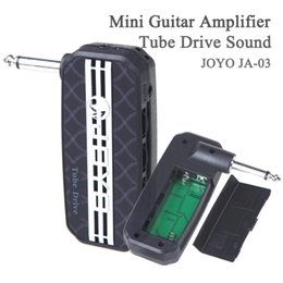 Tube Drive Son Aux In Jack Amplificateur de guitare Play With MP3 Sans distraction autres personnes JOYO JA-03