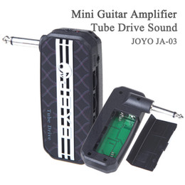Tube Drive Sound Aux In Jack Guitar Amplifier Play Along With MP3 Without Distrubing Other People JOYO JA-03