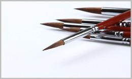 $enCountryForm.capitalKeyWord NZ - Wholesale-6pcs set Professional School & Office Art Paint Brush Brushes Wood handle material de manualidades paint brush set 168