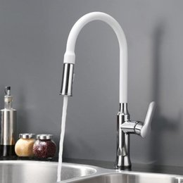 White Kitchen Faucets Pull Down discount white kitchen faucets pull down | 2017 white kitchen