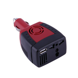 Chinese  New 150W Car Power Inverter Charger Adapter 12V DC To 110V AC USB 5V Hot Selling manufacturers