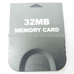 Chinese  High quality FOR NGC MEMORY CARD 32MB 2043BLOCKS 100%Full Capacity High Speed32MB 64MB 128MB memory card for gamecube manufacturers