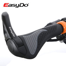 Ergonomic Bike Canada - 2014 Hot Sale EasyDo Bike Ergonomic MTB Touring Handlebar Kraton Bicycle Cycling Grip Rubber Aluminium Alloy Barend Bar End