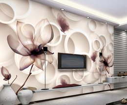 $enCountryForm.capitalKeyWord NZ - Custom photo wallpaper 3D European Magnolia flowers retro sofa backdrop 3d wallpaper 3d mural wallpaper 20158602