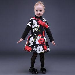 Pretty girls clothes online shopping - Pettigirl Retail Fashion Girls Floral Dresses Short Sleeve Girl Holiday Dress Pretty Children Designer Clothes Girls GD80928