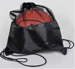 $enCountryForm.capitalKeyWord Canada - Basketball Bag Manufacturers Custom-made Basketball Pull On The Rope Bag Mesh Bag Basketball Mesh Bag Sports Backpack