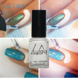 uv coating liquid UK - Wholesale- lulaaPeel Off Liquid Tape Latex Tape Peel Off Base Coat Nail Art 0322A
