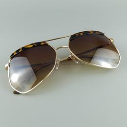 924b4d9897 Metal Vintage Grey Ant Sunglasses Pilot Designer Sun Glasses Large Frame  Big Bang Style UV400 3 Colors