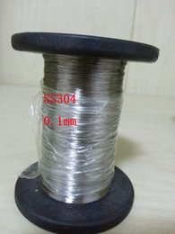 $enCountryForm.capitalKeyWord Canada - 0.1mm Diameter, Hard Condition SS304 Stainless steel Wire 100 meters lot