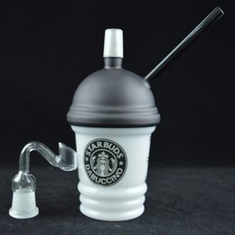 $enCountryForm.capitalKeyWord Australia - Starbucks Cup Dab Rigs Bong Water Pipes Dabuccino Concentrate Glass Oil Rig Black White 8 inches Original Opaque Dab Starbucks Cup Hookah