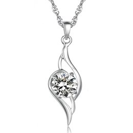 Chinese  Tianyu pendant necklace Korea Korean vintage European and American jewelry wholesale fashion jewelry natural crystal pendant Valentine's Day manufacturers