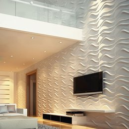 Wholesale Waterproof Fashion Design Europe Moisture proof Embossed d Board Wall for Bedroom CM Per Sqm Anti static d Art Wallpaper