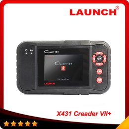 scanner automotive nissan Canada - 2016 original Launch X431 Scanner Launch Creader Professional Creader VII+ same function with CRP123 Auto Scanner New obd03