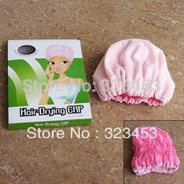 Microfiber Hair Drying Cap NZ - Microfiber Magic Hair Dry Drying Turban Wrap Towel Hat Quick Dry Dryer Bath Waterproof dry hair cap