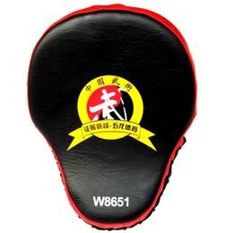 $enCountryForm.capitalKeyWord NZ - New Hand Target Mma Focus Punch Pad Boxing Training Gloves Karate Muay Mitts Thai Kick Fighting High Quality New 1 Piece