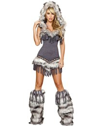 Wholesale Sexy Womenu0027s Costume Halloween Animal Costume Womens Native Temptress Costume H39230  sc 1 st  DHgate.com & Sexy Plus Size Womens Halloween Costumes Online Shopping   Sexy Plus ...