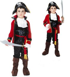 $enCountryForm.capitalKeyWord UK - Hot Sale Disfraces Halloween Cosplay Costume For Kids The Caribbean Pirates Costumes Children's Day Boys Prince Clothing Asian Size M-XL