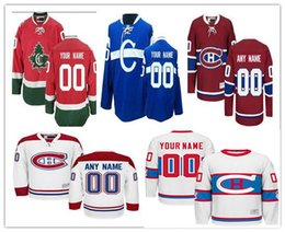 768f47f88 Stitched Custom Montreal Canadiens mens womens youth Customized Away White  Winter Classic third C Blue Home Red CH CD hockey Jerseys S-4XL