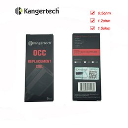 Vertical organic cotton coils kanger online shopping - Kanger Vertical SubTank OCC Coils KangerTech OCC Coil ohm ohm ohm Organic Cotton Coil Head for Subtank Mini Nano Plus