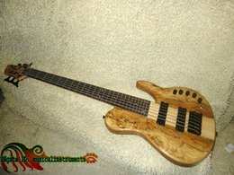 $enCountryForm.capitalKeyWord NZ - Bass Guitar Newest One Piece Neck 6 strings Wooden Electric Bass High Quality Wholesale Guitars