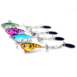 Led spinners online shopping - Fishing accessories new g lead fish VIB spin sequins sea fishing lure bait sequins lead fish shaped bait