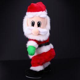 f9e6ce33b2071 Christmas Electric Twerk Santa Claus Toy Music Dancing Doll Xmas navidad  Christmas Gifts Toys Christmas Decorations for home