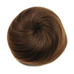 Chinese  hanzi_beauty Synthetic High Temperature Fiber Curly Hair Chignon Clip In Hair Bun Donut Roller Hairpieces manufacturers
