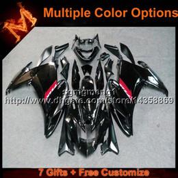 $enCountryForm.capitalKeyWord Canada - 23colors+8Gifts BLACK motorcycle cowl For yamaha FZ6R 09 12 10 11FZ6R 2009 2012 2010 2011 ABS Plastic Fairing