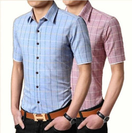Discount Pink Check Shirt Mens | 2017 Pink Check Shirt Mens on ...